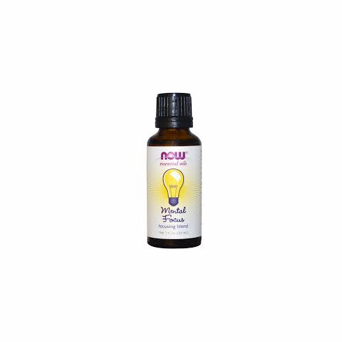 NOW- Mental Focus Oil 1oz