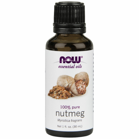 NOW- Nutmeg Oil 1oz