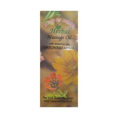 Song of India Herbal Massage Oil