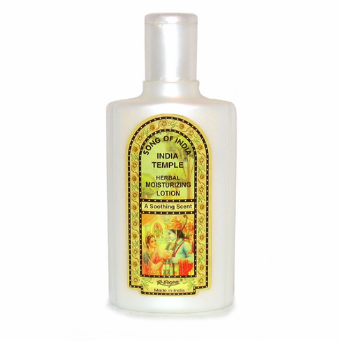 Song of India Temple Herbal Moisturizing Lotion