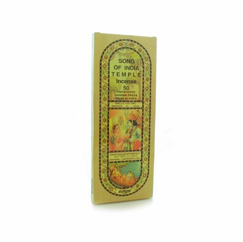 Song of India-India Temple Incense 60g