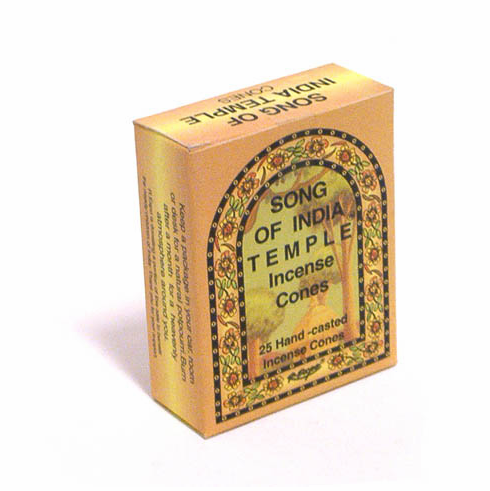 Song of India-India Temple Incense Cones