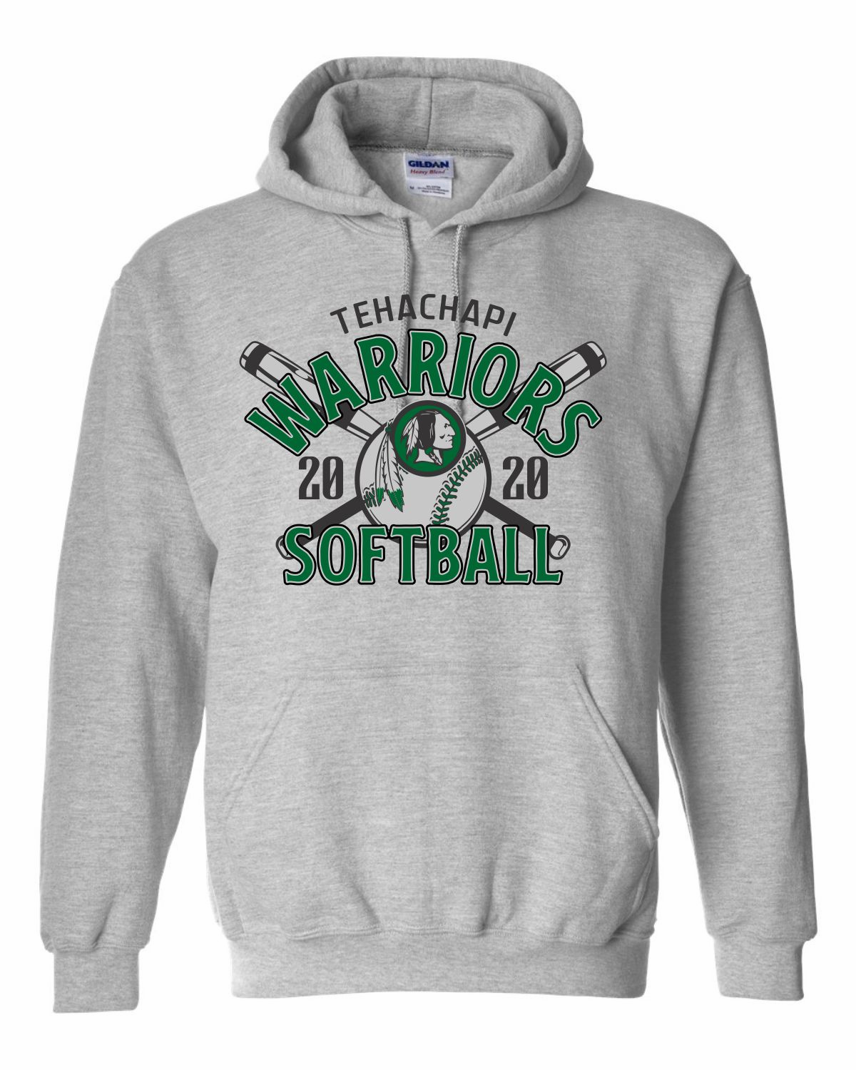 Softball Hooded Pullover