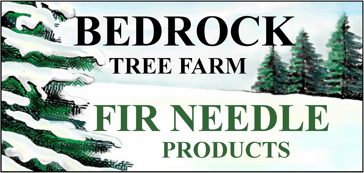 WHOLESALE  Bedrock Tree Farm Fir Needle Products