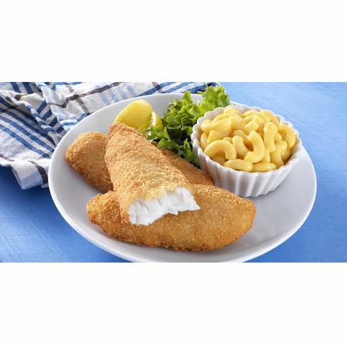Breaded Pollock Fish Fille 裹粉鱼片  20LB