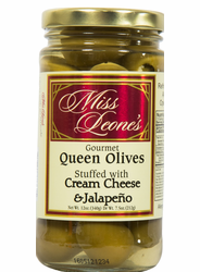 Cream Cheese & Jalapeno Double Stuffed Queen Olives