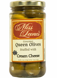 Cream Cheese Stuffed Queen Olives