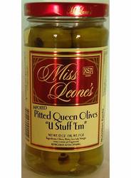 U Stuff 'Em Pitted Queen Olives