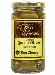 Bleu Cheese Stuffed Queen Olives