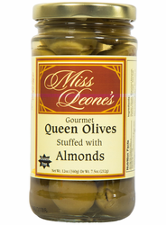 Almond Stuffed Queen Olives