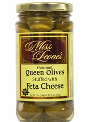 Feta Cheese Stuffed Queen Olives