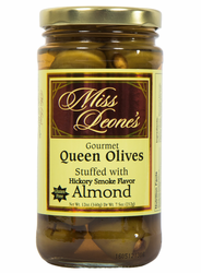 Hickory Smoked Almond Flavored Stuffed Queen Olives