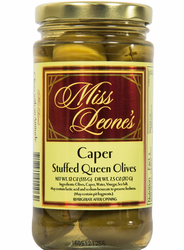 Caper Stuffed Queen Olives