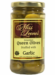 Garlic Stuffed Queen Olives