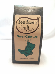 Boot Scootin' Chili Green - Spicy Green Chile Chili