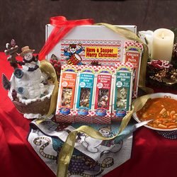 ''Have a Souper Merry Christmas'' 5 Pack Soup Gift Set