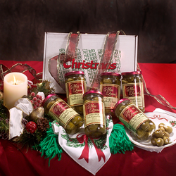 Miss Leone's Gourmet Merry Christmas Queen Stuffed Olives