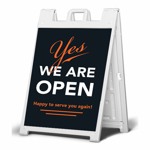Yes, we are open sign