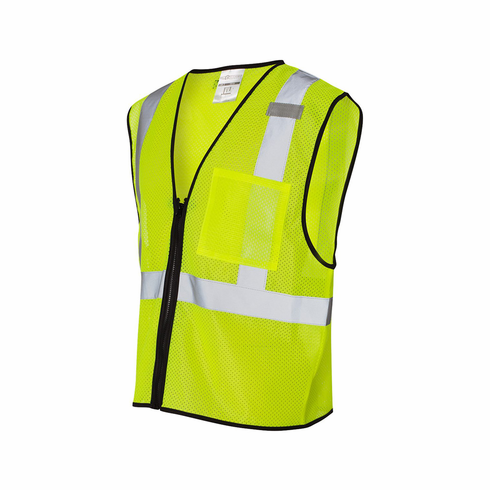 Class 2 Economy Vest with Zippered Front