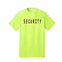 Security t-shirt  (set of 5)