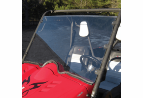 Seizmik Full Front Windshield - Yamaha Rhino