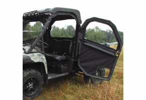 Seizmik Full Hinged Door Kit w| Back Panel - John Deere Gator XUV 620i | 625i | 825 | 850d | 855