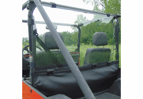 3 Star Rear Lexan Windshield - Mahindra ROXOR