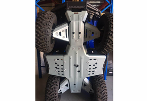 Rival Aluminum Skid Plate and Guards Kit - 2018-19 Yamaha Kodiak 450