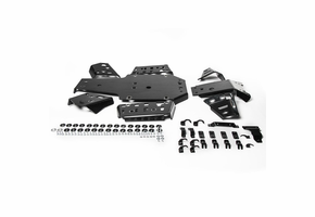 Rival Plastic Skid Plate and Guards Kit - 2016-19 Yamaha Grizzly 700