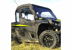 Over Armour Full Cab Enclosure w| Aero-Vent Windshield - Textron Stampede
