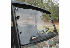 Seizmik Versa-Fold Hard Coated Front Windshield - 2013-20 Polaris Ranger
