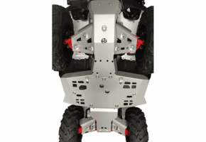 Rival Aluminum Skid Plate and Guards Kit - 2015-19 Honda Foreman | Rancher