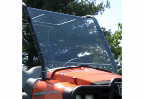 Over Armour Full Front Lexan Windshield - New Holland Rustler 120 | 125