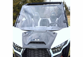 Over Armour Full Front Lexan Windshield - Kawasaki Teryx KRX 1000