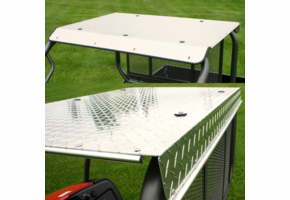 Over Armour Aluminum Diamond Plate Top - Kawasaki Mule 600 | 610