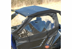 Over Armour Full Cab w| Aero-Vent Windshield and Diamond Plate Hard Top - Arctic Cat Wildcat Trail | Sport