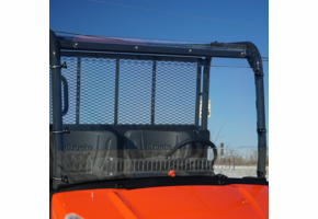 Over Armour Aero-Vent Front Windshield - Kubota RTV XG850 Sidekick