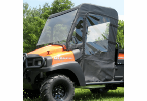 Over Armour Full Cab Enclosure w| Full Windshield - New Holland Rustler 120 | 125