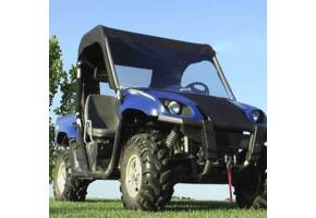 Over Armour Soft Windshield, Top and Rear Window - Yamaha Rhino