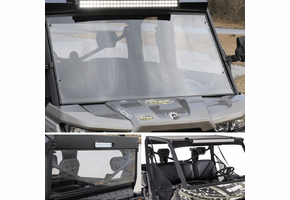 Battle Armor Designs Full Front Windshield, Top and Back Combo - Can Am Defender