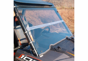 Dot Weld Folding Front Windshield - Polaris RZR XP 1000 | XP Turbo | S 1000 | 900 | S 900