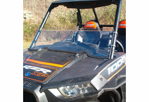 Dot Weld Half Front Windshield - Polaris RZR XP 1000 | XP Turbo | S 1000 | 900 | S 900