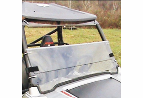Dot Weld Folding Front Windshield - 2008-18 Polaris RZR 570 | S 570 | 800 | S 800 | XP 900
