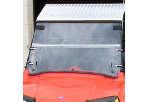 Dot Weld Folding Front Windshield - Polaris RZR 170
