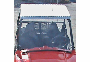 Dot Weld Full Front Windshield - Polaris RZR 170