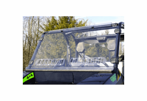 Over Armour Aero-Vent Front Lexan Windshield - Textron Stampede