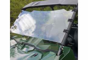 Dot Weld Full Front Windshield - Yamaha Wolverine