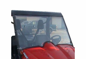 Dot Weld Full Front Windshield - Yamaha Rhino