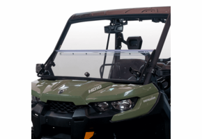 Seizmik Versa-Fold Hard Coated Front Windshield - Can Am Defender
