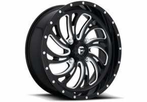 Fuel Kompressor D641 Gloss Black Wheel Set - 18 and 20 Inch